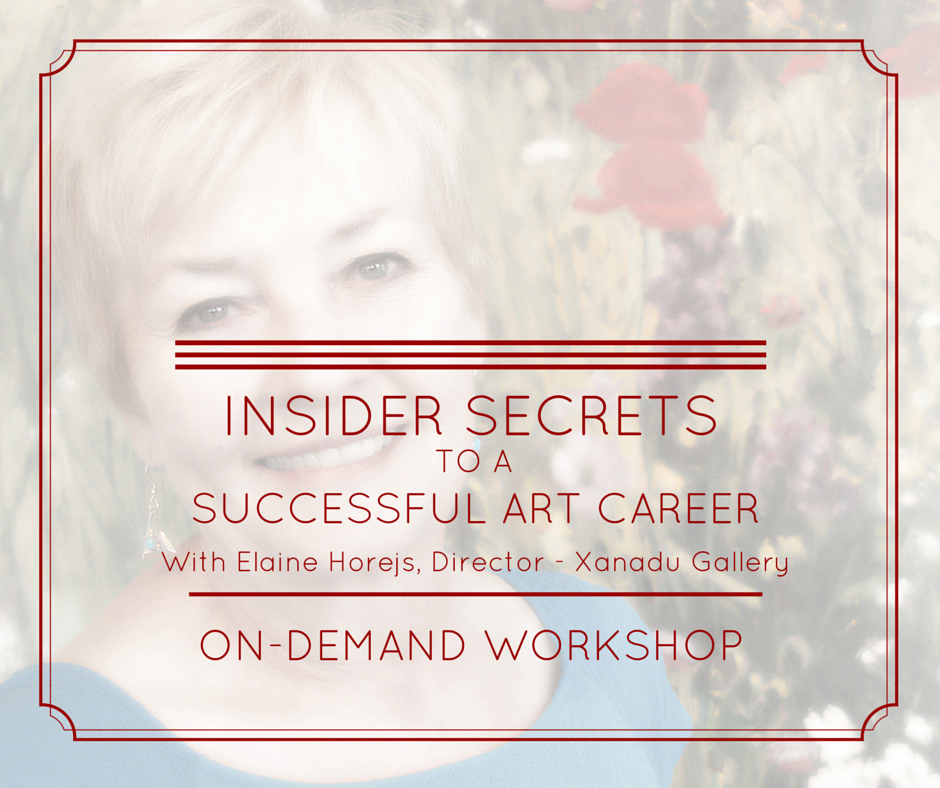 Online Workshop With Xanadu Gallery Director Elaine Horejs
